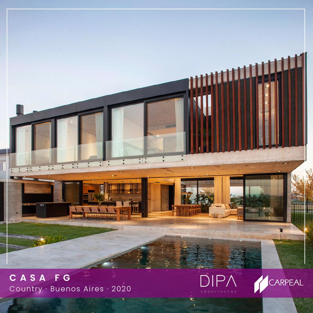 CASA FG - DIPA Arquitectos - CARPEAL Country